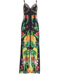 Camilla - Call Me Carmen Crystal-embellished Printed Silk Crepe De Chine Jumpsuit - Lyst