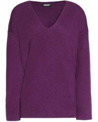DKNY - Silk-blend Sweater - Lyst