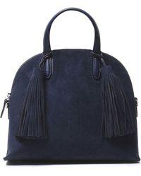 Loeffler Randall | Tasselled Suede Shoulder Bag | Lyst