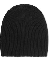 Duffy - Ribbed Cashmere Beanie - Lyst
