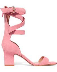 Valentino - Suede Sandals - Lyst