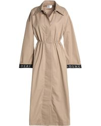 Solace London - Cotton-blend Gabardine Trench Coat - Lyst