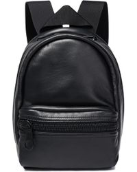 Alexander Wang Leather Backpack Black