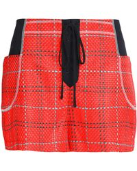 3.1 Phillip Lim - Skirt-effect Jacquard Shorts - Lyst