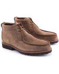 Ludwig Reiter - Light Brown Touring Suede Boots - Lyst