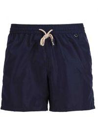 Rubinacci - Navy Swim Shorts - Lyst