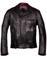 Aero Leather Clothing - Black Daytona Motorcycle Leather Jacket - Lyst