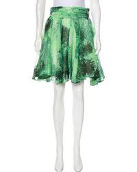 Chris Benz - Printed Knee-length Skirt - Lyst