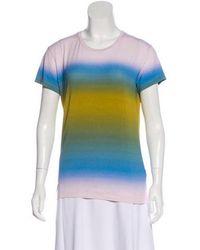 Jonathan Saunders - Short Sleeve Top Multicolor - Lyst