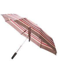 Missoni - Printed Retractable Umbrella - Lyst