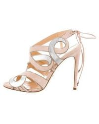 Jerome C. Rousseau - Cincoche Caged Sandals W/ Tags Nude - Lyst