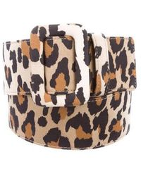 Carolina Herrera - Animal Print Waist Belt W/ Tags - Lyst