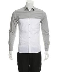 Opening Ceremony - Colorblock Woven Shirt - Lyst