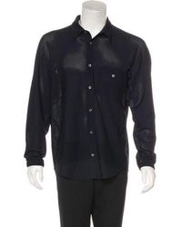Opening Ceremony - Mesh Button-up Shirt - Lyst
