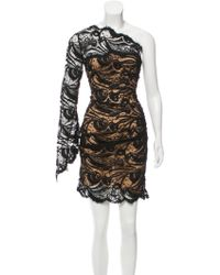 Emilio Pucci - Lace One-shoulder Dress W/ Tags - Lyst