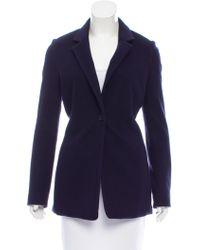 The Row - Wool Notch-collar Jacket - Lyst