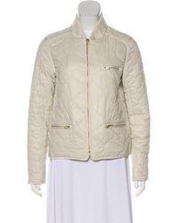 Day Birger et Mikkelsen - Quilted Zip-up Jacket Neutrals - Lyst