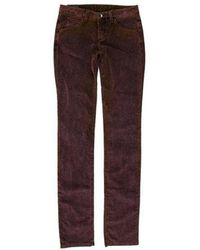 Theyskens' Theory - Low-rise Corduroy Pants W/ Tags - Lyst