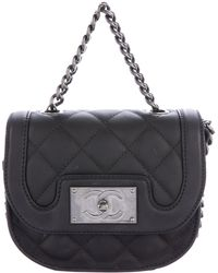 Chanel - 2015 Quilted Messenger Bag - Lyst