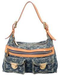 Louis Vuitton - Denim Baggy Pm Blue - Lyst