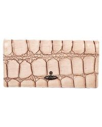 Vivienne Westwood - Embossed Leather Clutch - Lyst
