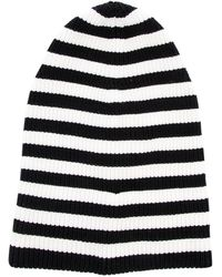 Marc Jacobs - Striped Knit Beanie - Lyst