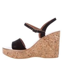 cee398928921 Lyst - K. Jacques Kobe Wedge Sandals W  Tags in Brown