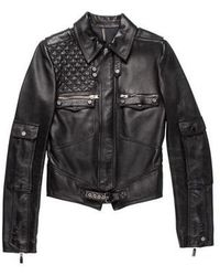Dior Homme - 2007 Leather Moto Jacket - Lyst