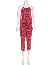 Étoile Isabel Marant - Sleeveless Floral Jumpsuit - Lyst
