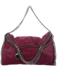 Stella McCartney - Shaggy Deer Falabella Fold-over Tote - Lyst
