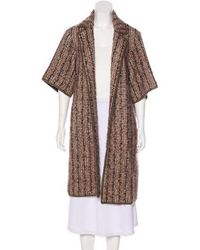 Missoni - Mohair-blend Patterned Coat - Lyst