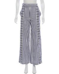 Johanna Ortiz - High-rise Striped Pants - Lyst