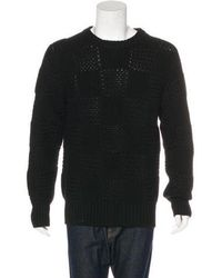 Louis Vuitton - Wool Cable Knit Sweater - Lyst