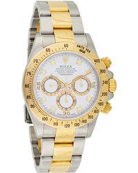 Rolex - Cosmograph Daytona Watch White - Lyst