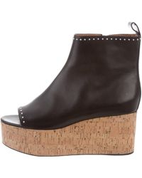 Givenchy - Studded Wedge Boots Black - Lyst