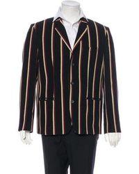 Marc Jacobs - Striped Wool-blend Blazer - Lyst