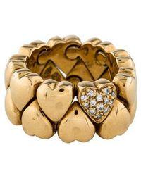 Cartier - Expanding Heart Ring Yellow - Lyst