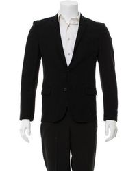 CoSTUME NATIONAL - Wool Structured Blazer - Lyst