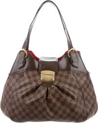 Louis Vuitton - Damier Ebene Sistina Mm Brown - Lyst