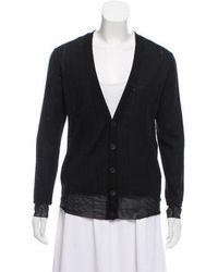 Undercover - Wool Knit Cardigan - Lyst