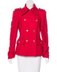 Michael Kors - Double-breasted Virgin Wool Jacket - Lyst