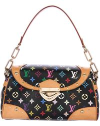 Louis Vuitton - Multicolore Beverly Mm Bag Black - Lyst