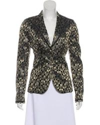 CoSTUME NATIONAL - Button-up Blazer W/ Tags Black - Lyst