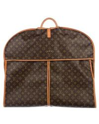Louis Vuitton - Monogram Garment Carrier Brown - Lyst