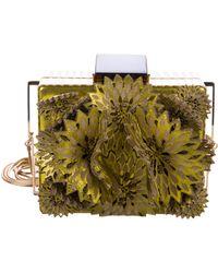 Tonya Hawkes - Appliqué Flower Crossbody Bag - Lyst