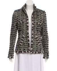 Chanel - Paris-bombay Metallic Jacket Black - Lyst
