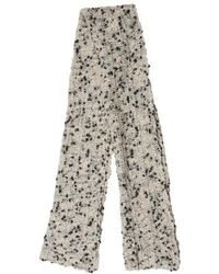 Marc Jacobs - Wool Knit Scarf Grey - Lyst