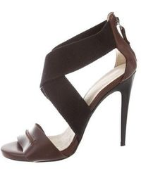 CoSTUME NATIONAL - Bicolor High-heel Sandals - Lyst