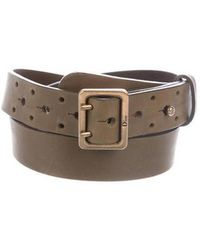 Dior - Leather Buckle Belt - Lyst
