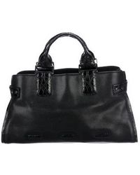VBH - Leather Crossbody Bag Black - Lyst